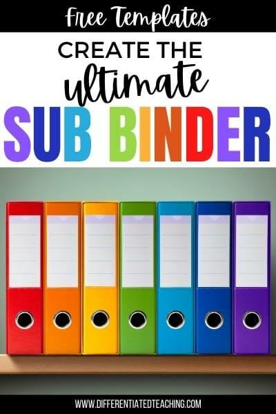 create the ultimate sub binder free templates