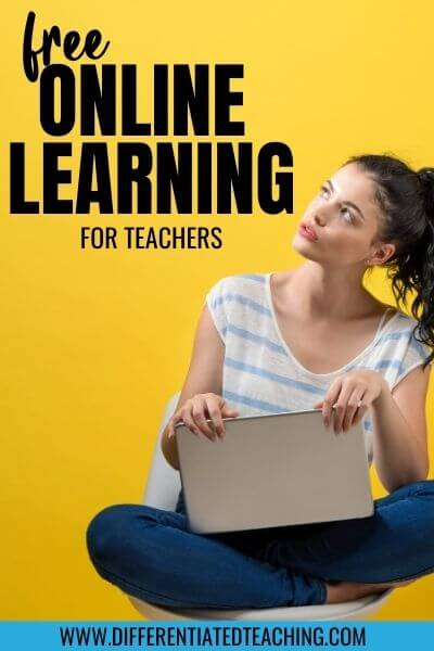 free professional learning for teachers
