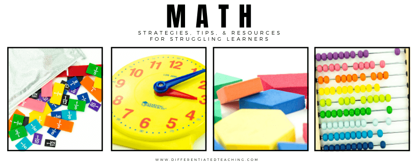Teaching Math struggling learners