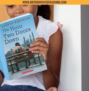 Girl Reading The Hero Two Doors Down